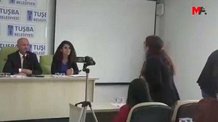 Van'ın Tuşba ilçesinde HDP ile AKP arasında mazbata tartışması