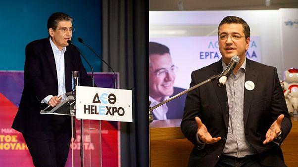 Προεκλογική εκστρατεία εν μέσω αποδοκιμασιών για Τζιτζικώστα - Γιαννούλη