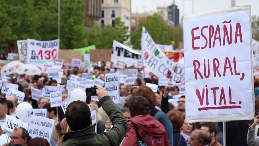 Spain's rural areas attract attention ahead of election