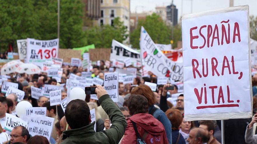 """A batalha pelo voto da """"Espanha vazia"""""""