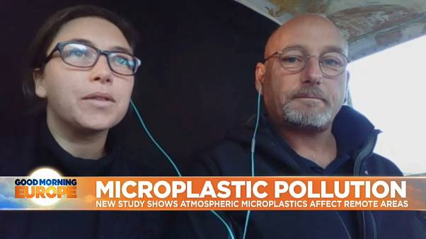 Micro-plastics are not just a problem for the oceans, they're now in the air