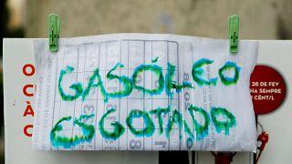 Portogallo senza benzina per lo sciopero dei trasportatori