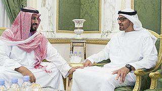 وليي العهد السعودي محمد بن سلمان والإماراتي محمد بن زايد