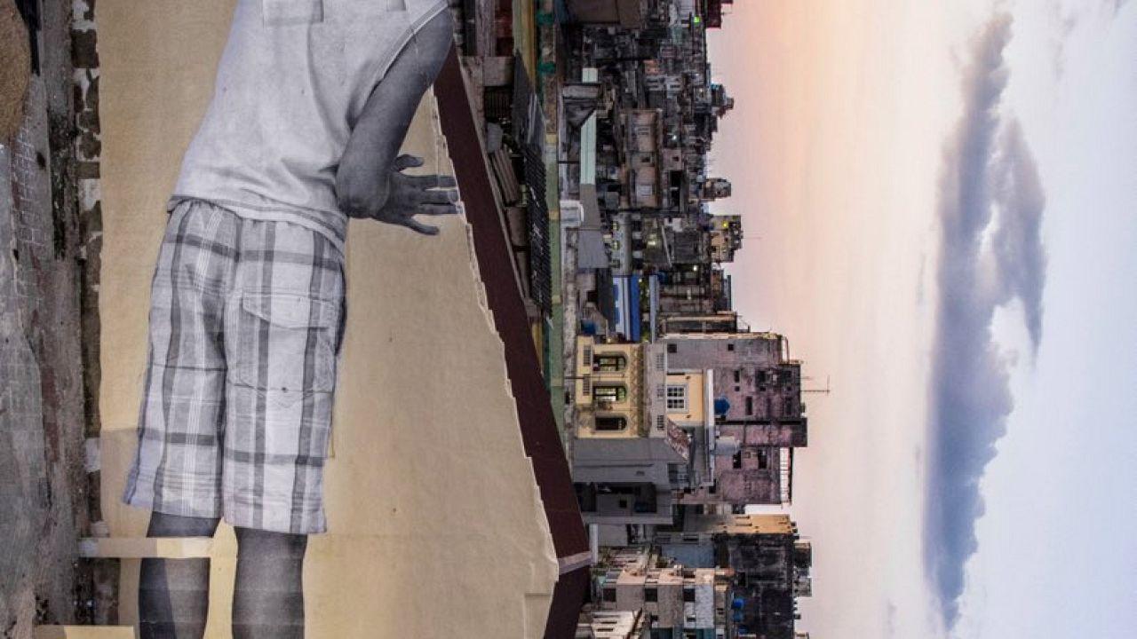 Nouvelle oeuvre de JR à La Havane