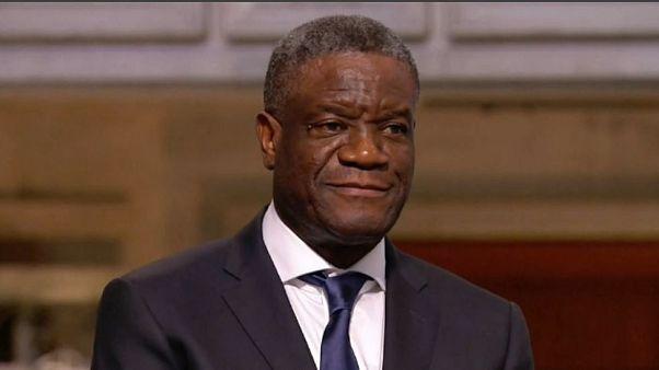Denis Mukwege, Nobel Peace Prize for 2018
