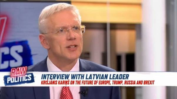 Euronews interview: Latvian PM targets Euroscepticism ahead of EU elections