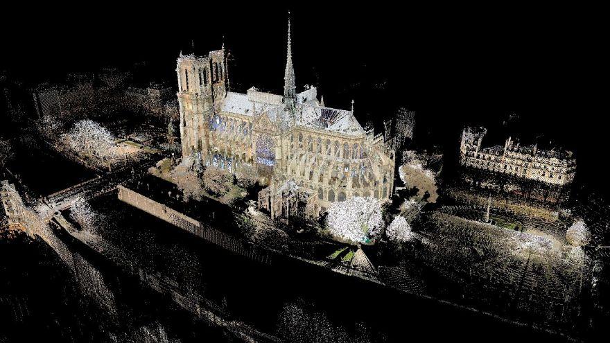 Notre-Dame, questo modello 3D potrebbe essere decisivo per la ricostruzione