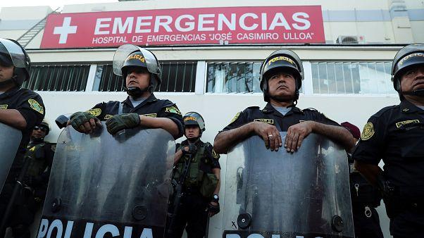 Alan Garcia, der ehemalige Präsident Perus, erschießt sich selbst