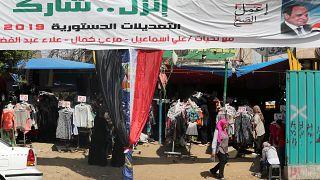 مصر تجري استفتاء على تعديلات دستورية تمدد حكم السيسي يوم 20 أبريل-نيسان