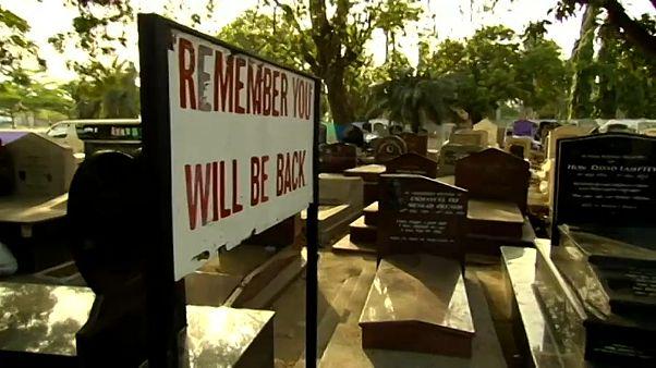 مقبرة في غانا