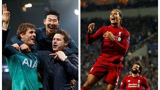 """Лига чемпионов: """"Ливерпуль"""" и """"Тоттенхэм"""" идут дальше"""