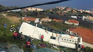 Súlyos buszbaleset Madeirán