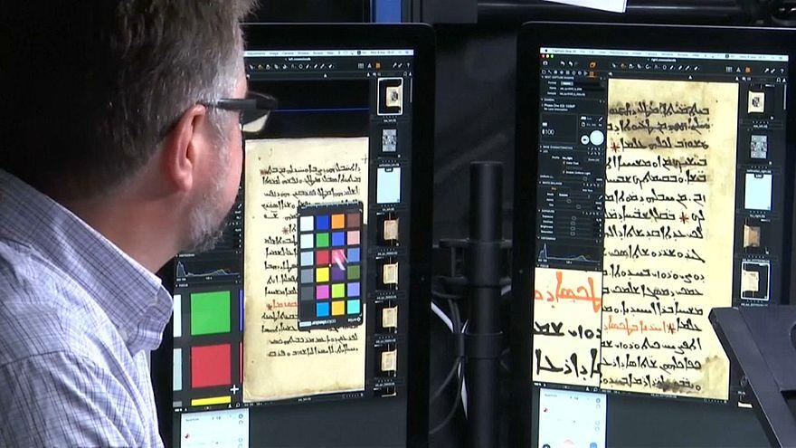 شاهد: مشروع في دير سانت كاترين لحفظ الأناجيل الأثرية رقمياً