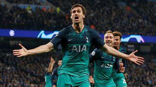 Şampiyonlar Ligi'nde gol düellosu, Tottenham tarih yazdı güçlü Manchester City'yi eledi