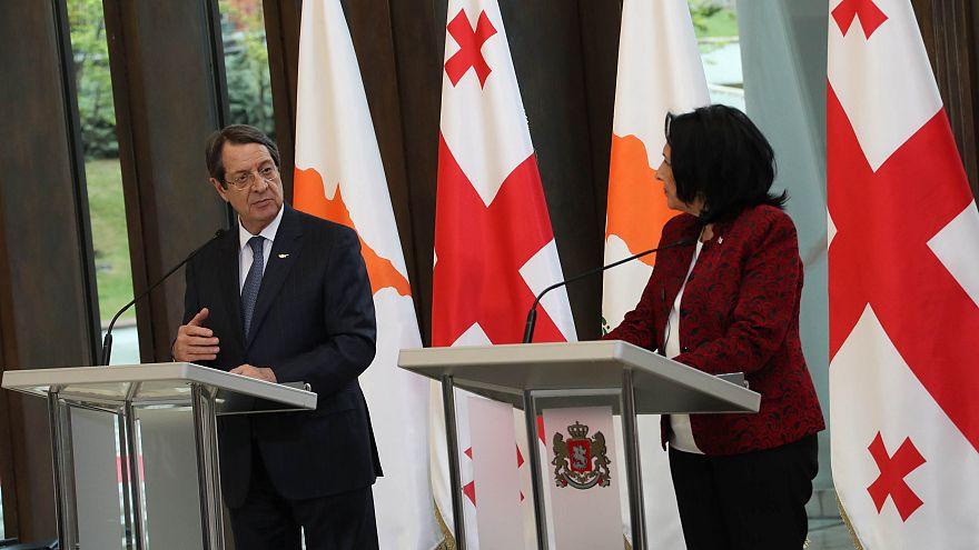 Κοινές οι προσδοκίες Κύπρου-Γεωργίας για επανένωση