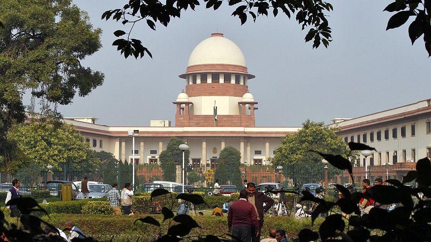 مبنى المحكمة العليا الهندية في العاصمة نيودلهي