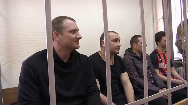Украинским морякам продлили арест