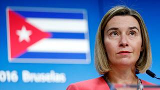 European Union foreign policy chief Federica Mogherini
