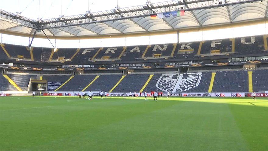 Fortaleza de Frankfurt aguarda Benfica