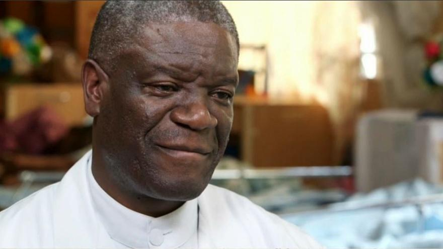 Dr Denis Mukwege has operated thousands of women who have been rape victims