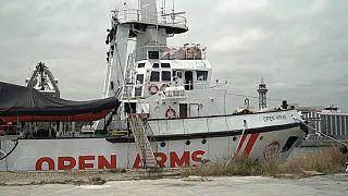 Open Arms può lasciare il porto di Barcellona