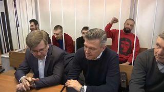 Russland verlängert U-Haft für ukrainische Seeleute