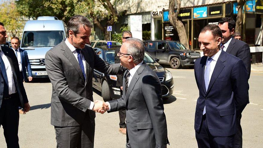 Επίσκεψη Κυριάκου Μητσοτάκη στην Κύπρο