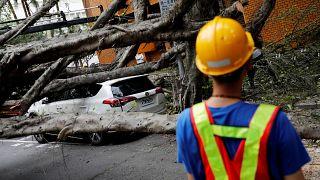 Erős földrengés volt Tajvanon