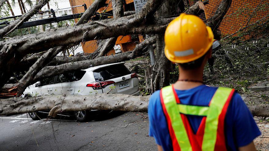 ویدئو؛ لحظه وقوع زلزله در تایپه پایتخت تایوان