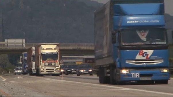 La UE recorta las emisiones de CO2 de camiones