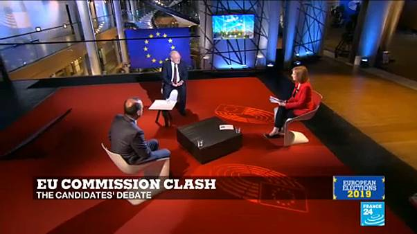 Weber vs Timmermans, en un debate flojo