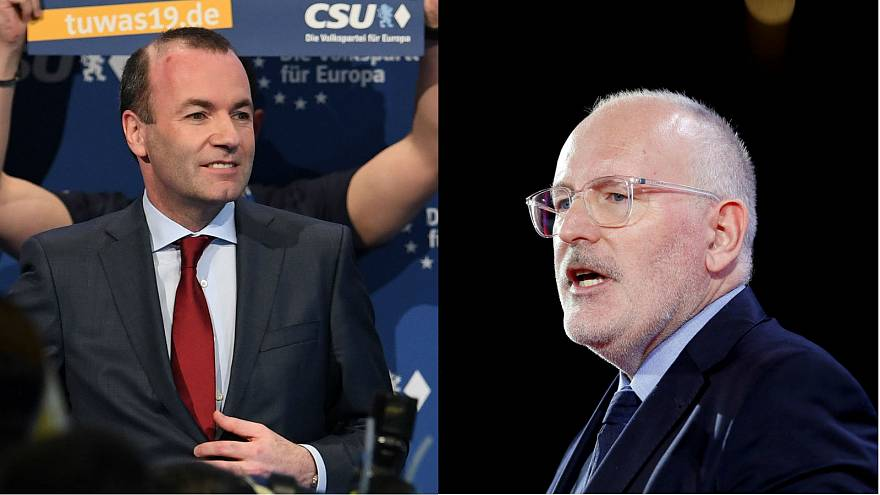 What do Weber and Timmermans think about Brexit as they pitch for top EU job?