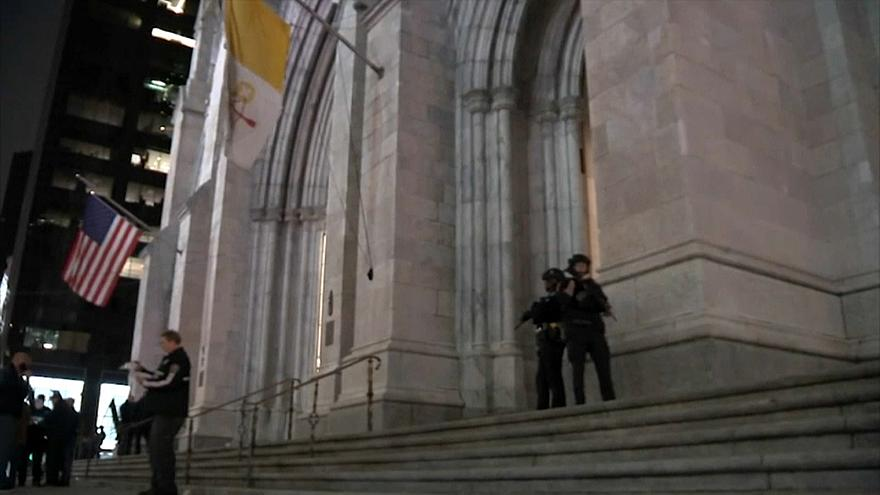 Un homme arrêté à la cathédrale Saint-Patrick de New-York