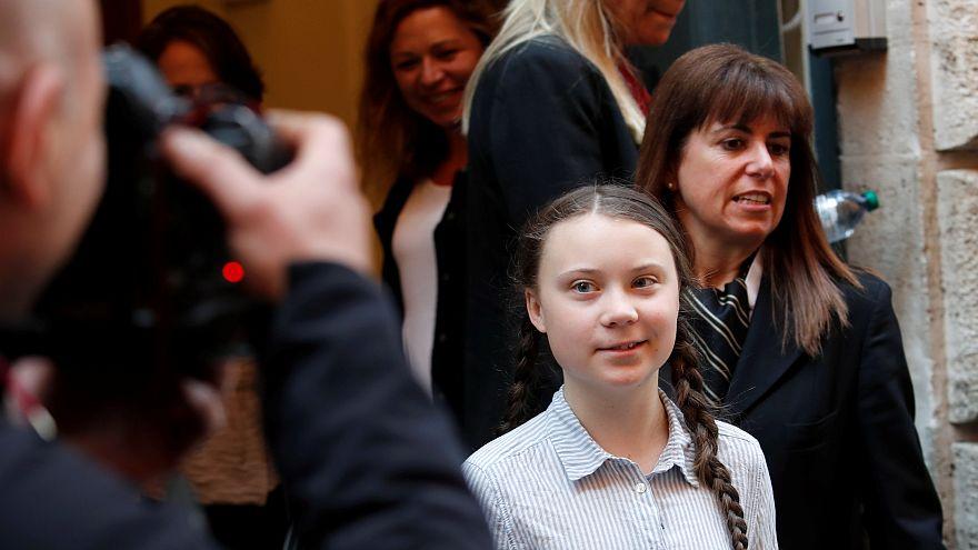 Greta Thunberg fordert Römischen Senat zum Umdenken auf
