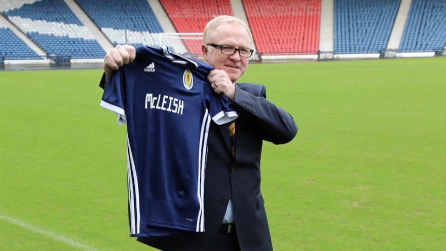 Schottland entlässt Nationaltrainer Alex McLeish