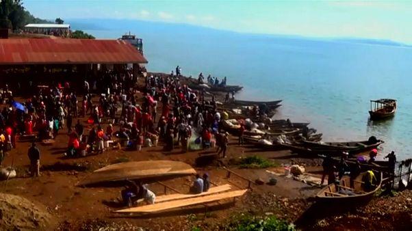 Крушение судна в ДР Конго: свыше 140 пропавших без вести