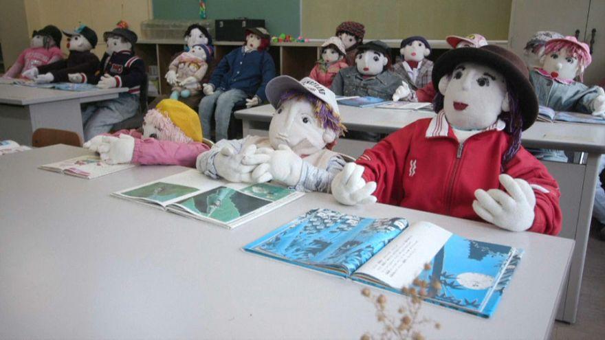 O vale dos bonecos no Japão