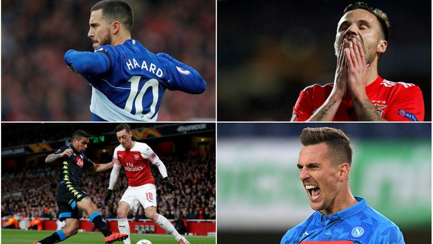 UEFA Avrupa Ligi'nde yarı finalistler bu akşam belli oluyor