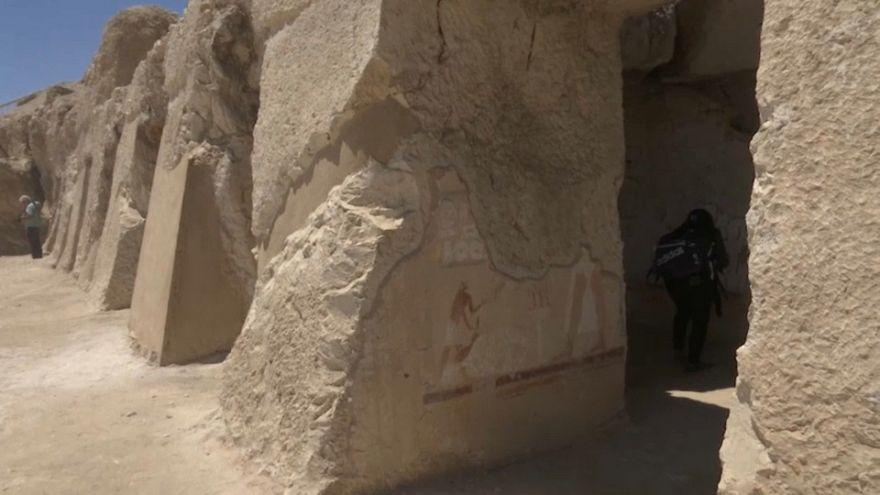 Egitto: rinvenute altre due antiche tombe a Luxor