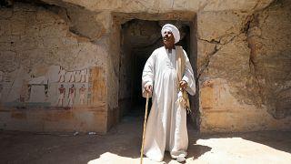 علي فاروق كبير عمال الحفريات الأثرية