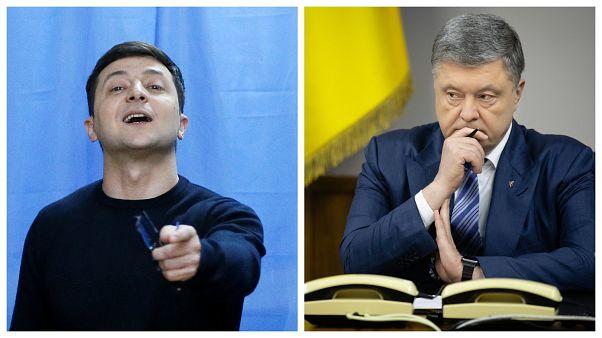 Зеленский против Порошенко: выбор украинцев
