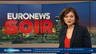 Euronews Soir : l'actualité du jeudi 18 avril