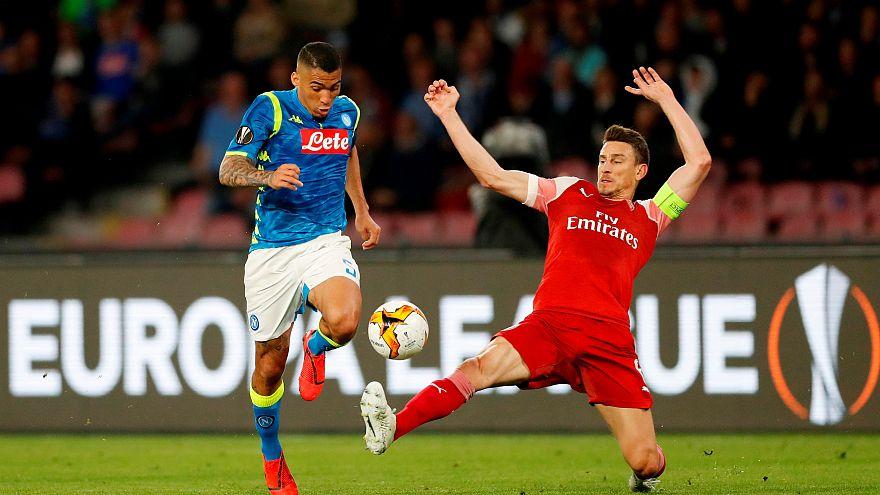 Europa League: Napoli eliminato, Arsenal in semifinale