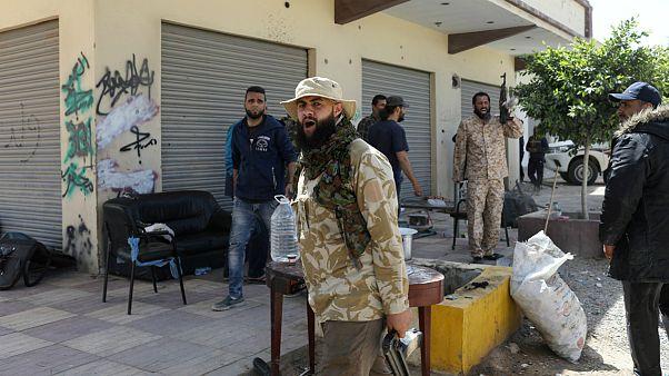 درگیریهای لیبی؛ حومه طرابلس با خمپاره مورد هدف قرار گرفت