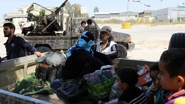 Битва за Триполи: обстрел жилых районов