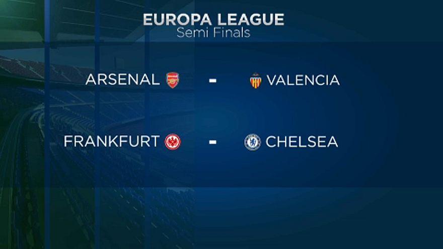 Calcio: rush semifinale in Europa League
