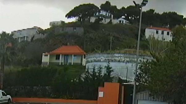 شاهد لحظة مقتل 29 ألمانيا في حادث انقلاب حافلة سياحية في جزيرة ماديرا البرتغالية