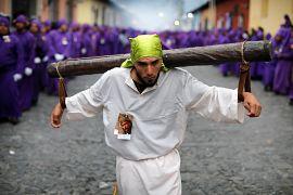 Prozession in Antigua, Guatemala