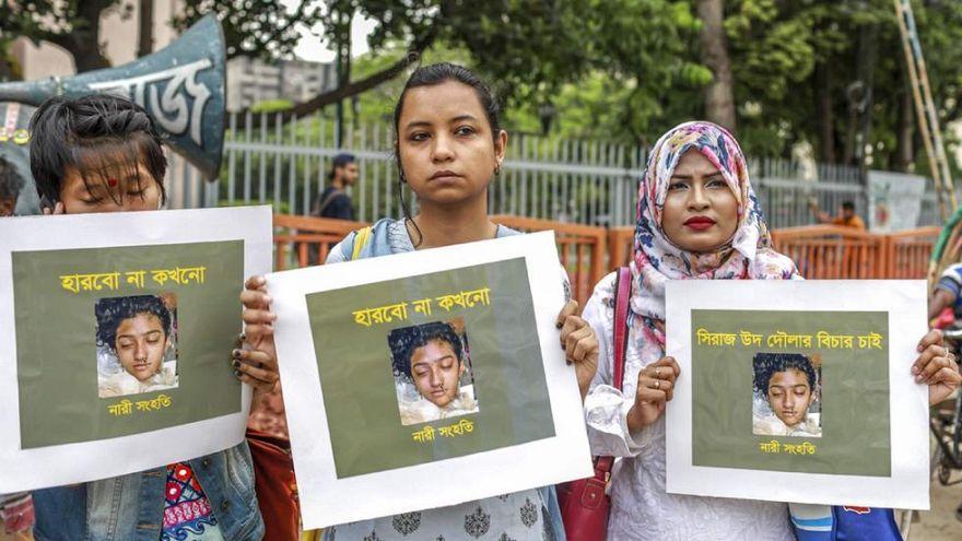 دختر ۱۹ ساله بنگلادشی بهدلیل گزارش کردن آزار جنسی به آتش کشیده شد