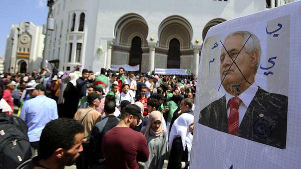 ادامه اعتراضات الجزایر در نهمین جمعه متوالی
